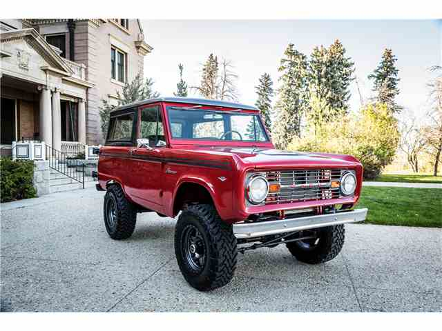 1967 to 1969 ford bronco for sale on 25 available. Black Bedroom Furniture Sets. Home Design Ideas
