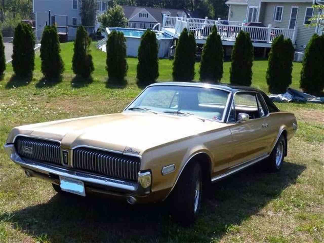 1968 mercury cougar for sale cc 1031301