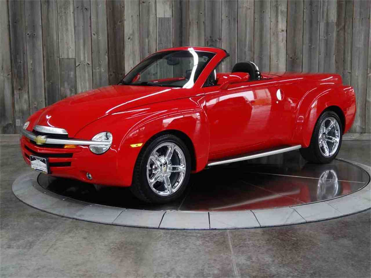 2004 chevrolet ssr for sale cc 1031403 for Chevy truck with corvette motor