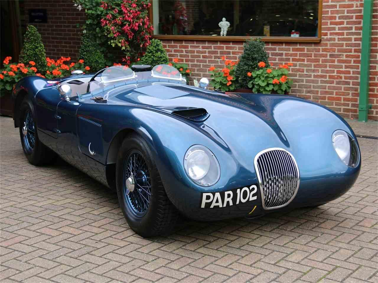 1953 jaguar c type for sale cc 1031433. Black Bedroom Furniture Sets. Home Design Ideas
