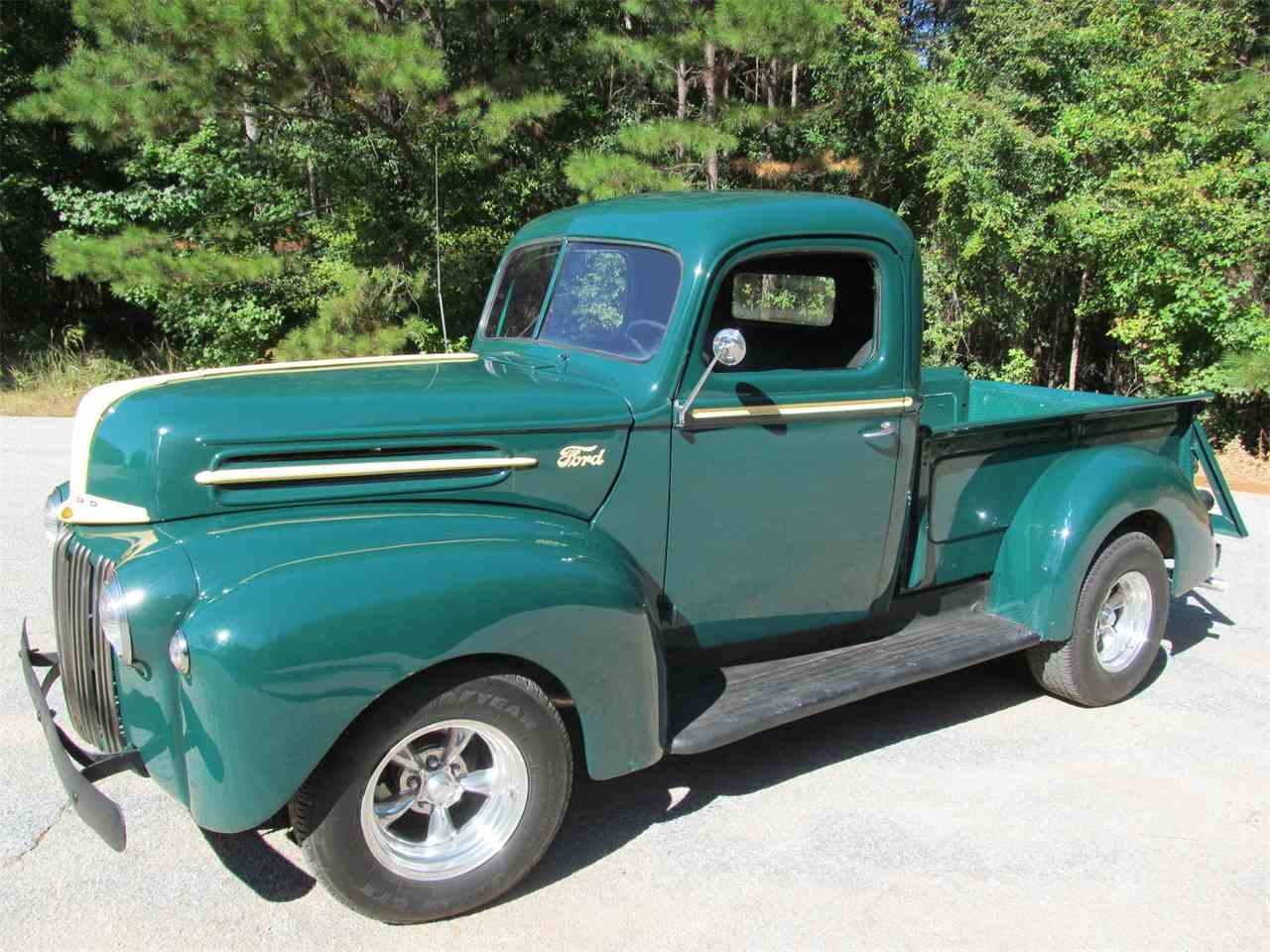 1947 ford 1 2 ton pickup for sale cc 1031462. Black Bedroom Furniture Sets. Home Design Ideas