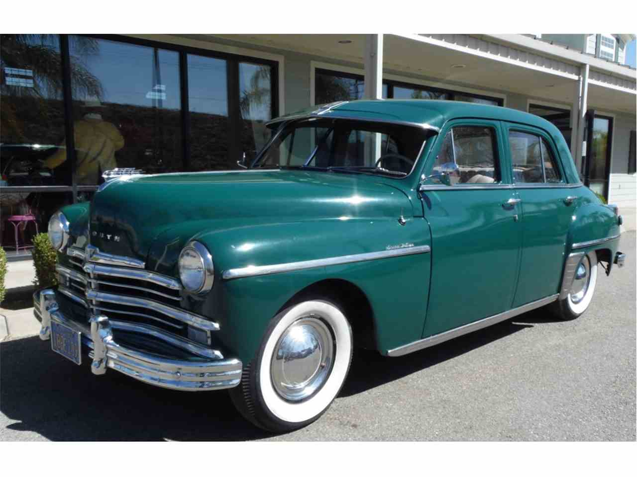 1949 Plymouth Special Deluxe For Sale Classiccars Com