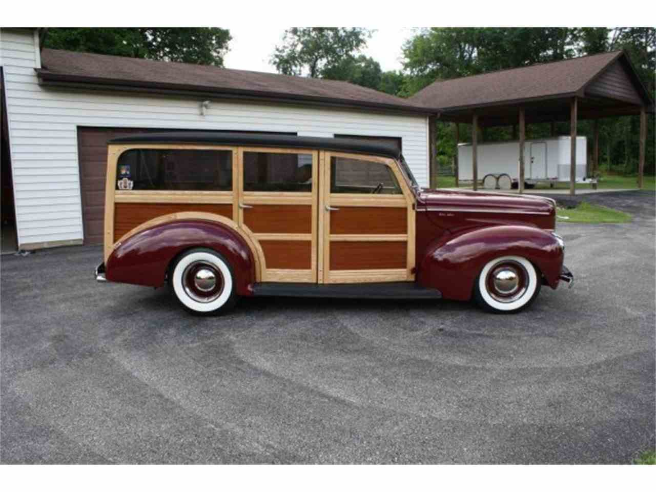 Large Picture of '40 Woody Wagon - M3YH