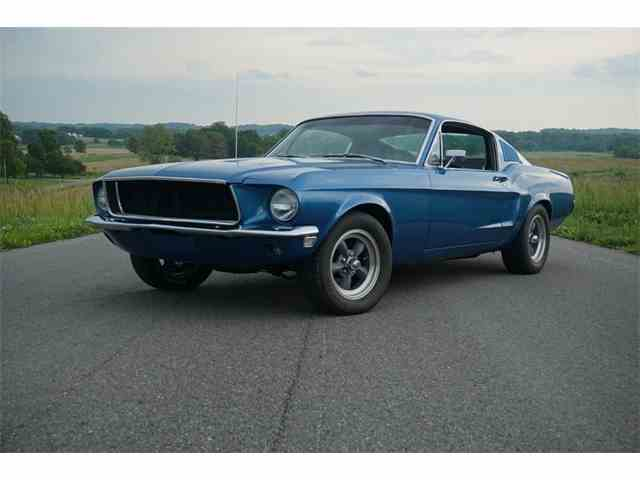 1968 Ford Mustang S-Code GT | 1031791