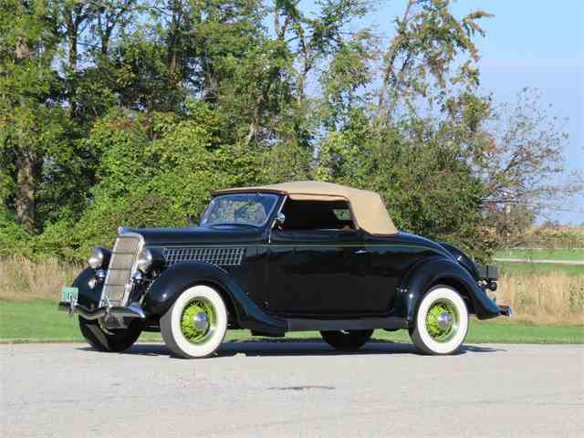 CC-1032086 1935 Ford Cabriolet