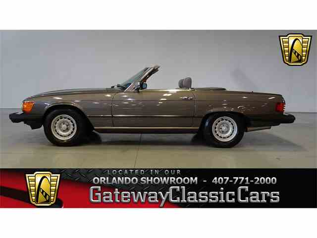 Picture of 1985 380SL - $19,995.00 Offered by Gateway Classic Cars - Orlando - M4F2