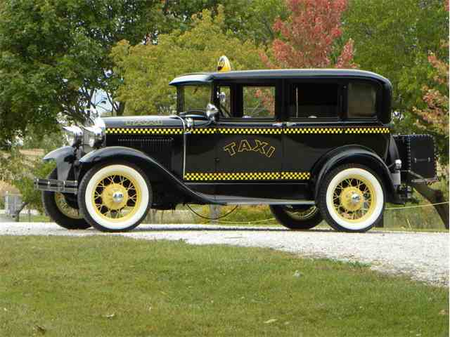1930 Ford Model A Briggs Body 4 Door Taxi | 1032220