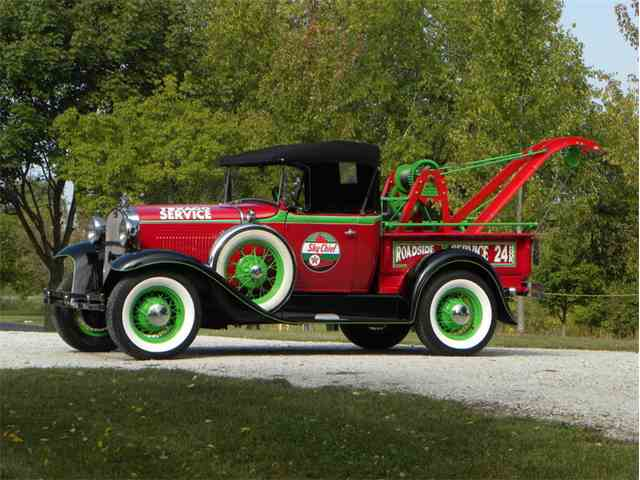 1930 Ford Model A Roadster Texaco Weaver Tow Truck | 1032235