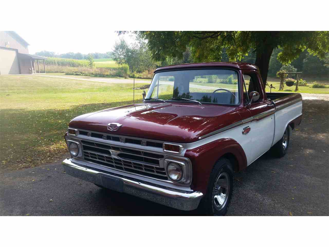 1964 To 1966 Ford F100 For Sale On Classiccars Com