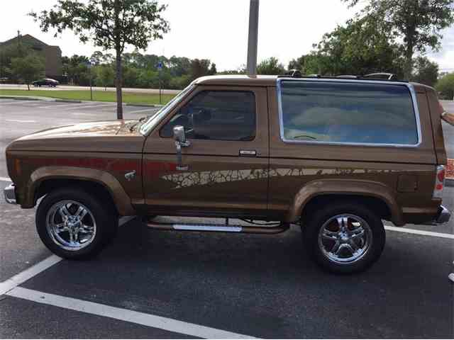 1985 Ford Bronco II 4x$ SUV   1032822