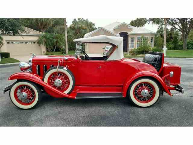 1932 Chevrolet Confederate BA Roadster | 1032839
