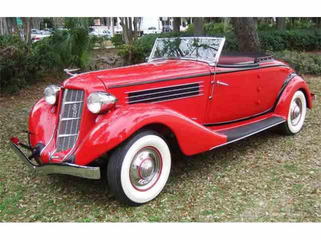 1935 Auburn 851 Cabriolet | 1032876