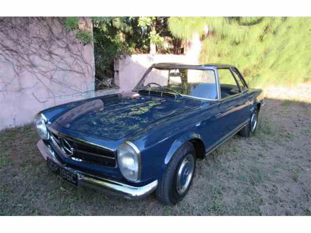 1965 Mercedes-benz 230SL Roadster - John Lennon   1032885
