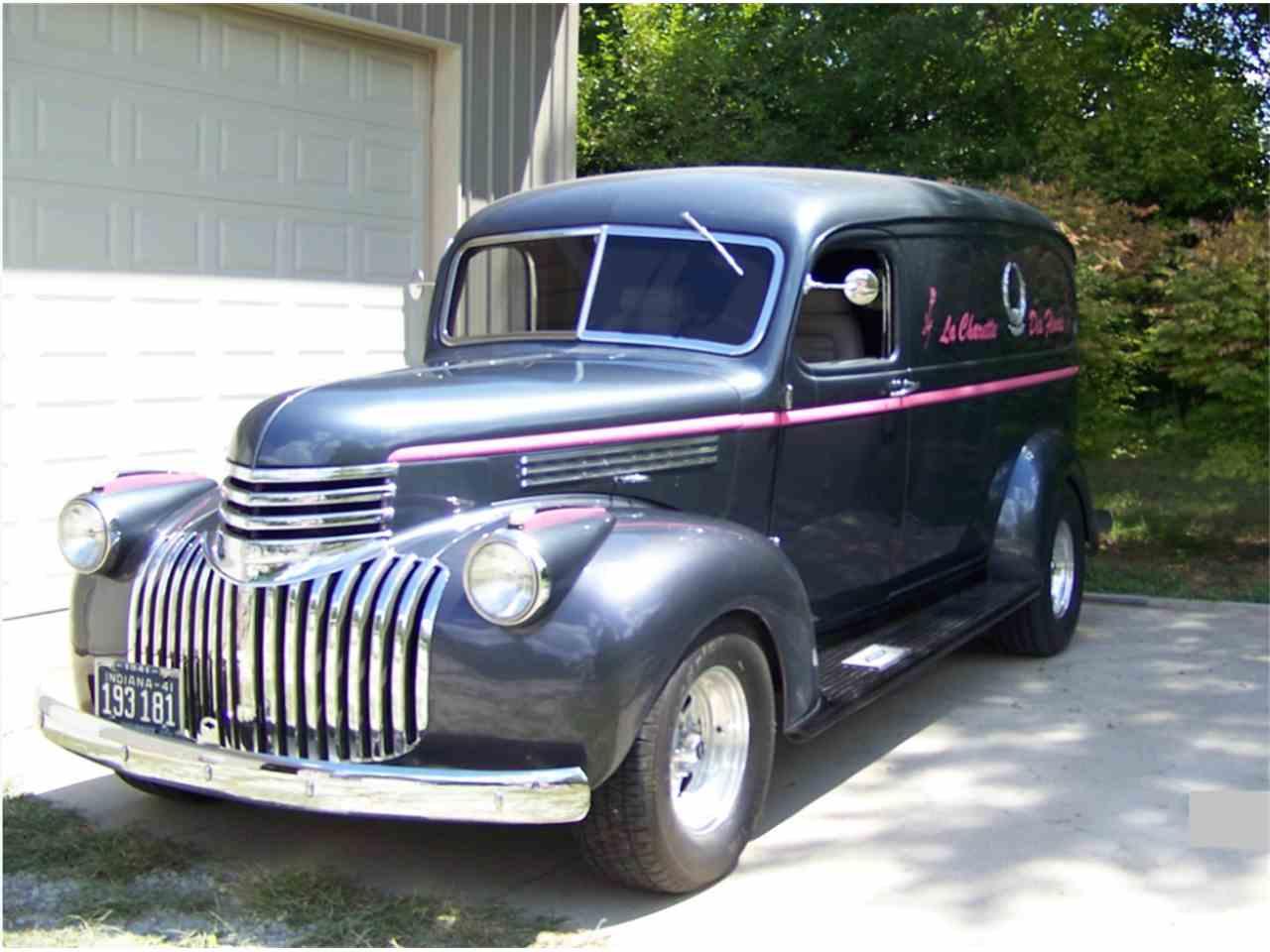 1941 chevrolet panel delivery for sale cc 1030030. Black Bedroom Furniture Sets. Home Design Ideas