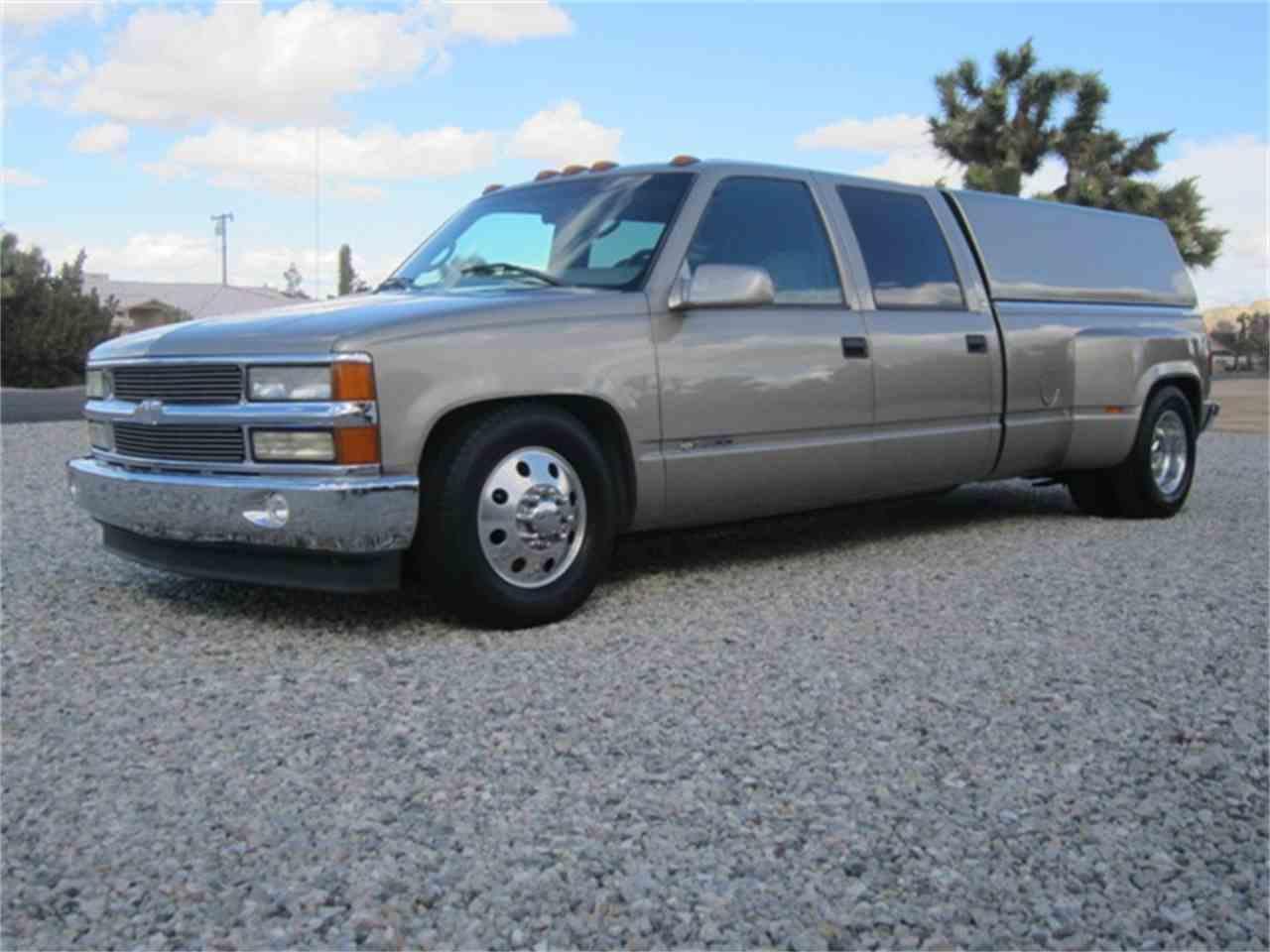 All Chevy 99 chevy 3500 : 1999 Chevrolet 3500 CREW CAB DUALLY for Sale | ClassicCars.com ...
