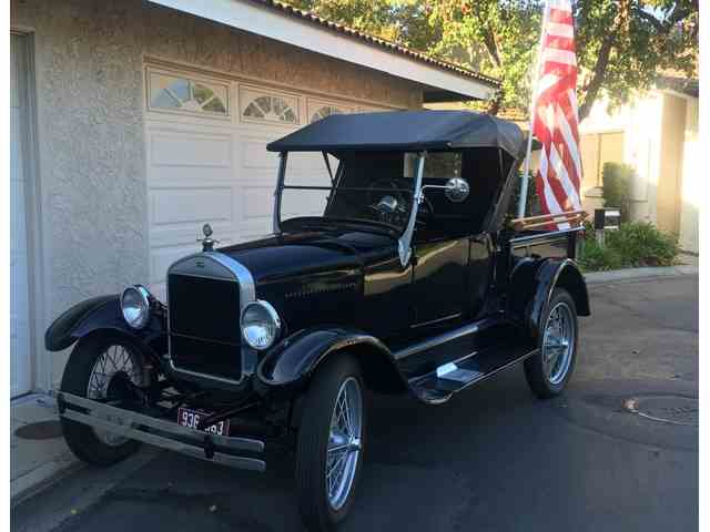 1927 FORD MODEL T PICK UP RDSTR