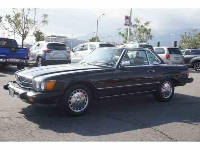 1987 MERCEDES BENZ 560 SL RDSTR | 1033046