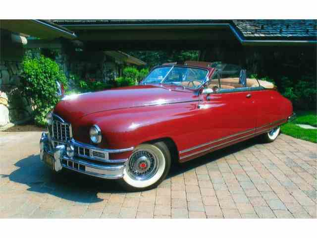 1949 PACKARD EIGHT VICTORIA CVTBLE | 1033059