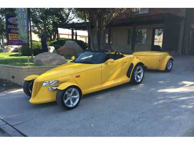 1999 PLYMOUTH PROWLER AND TRAILER | 1033067