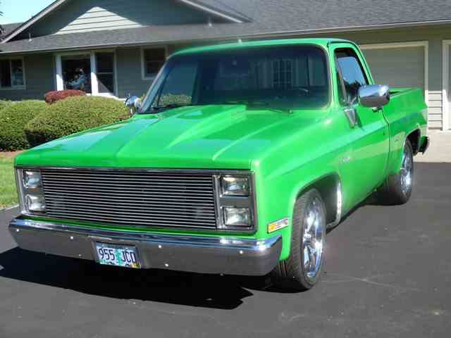 1985 CHEVROLET C10 PICK UP | 1033082