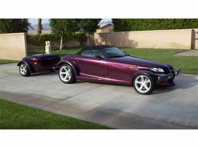 1997 PLYMOUTH PROWLER AND TRAILER | 1033086