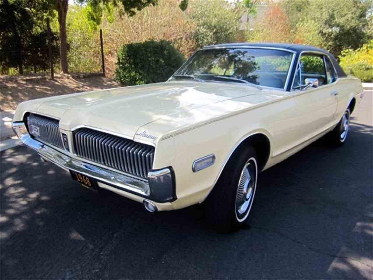 1968 mercury cougar cc 1033121
