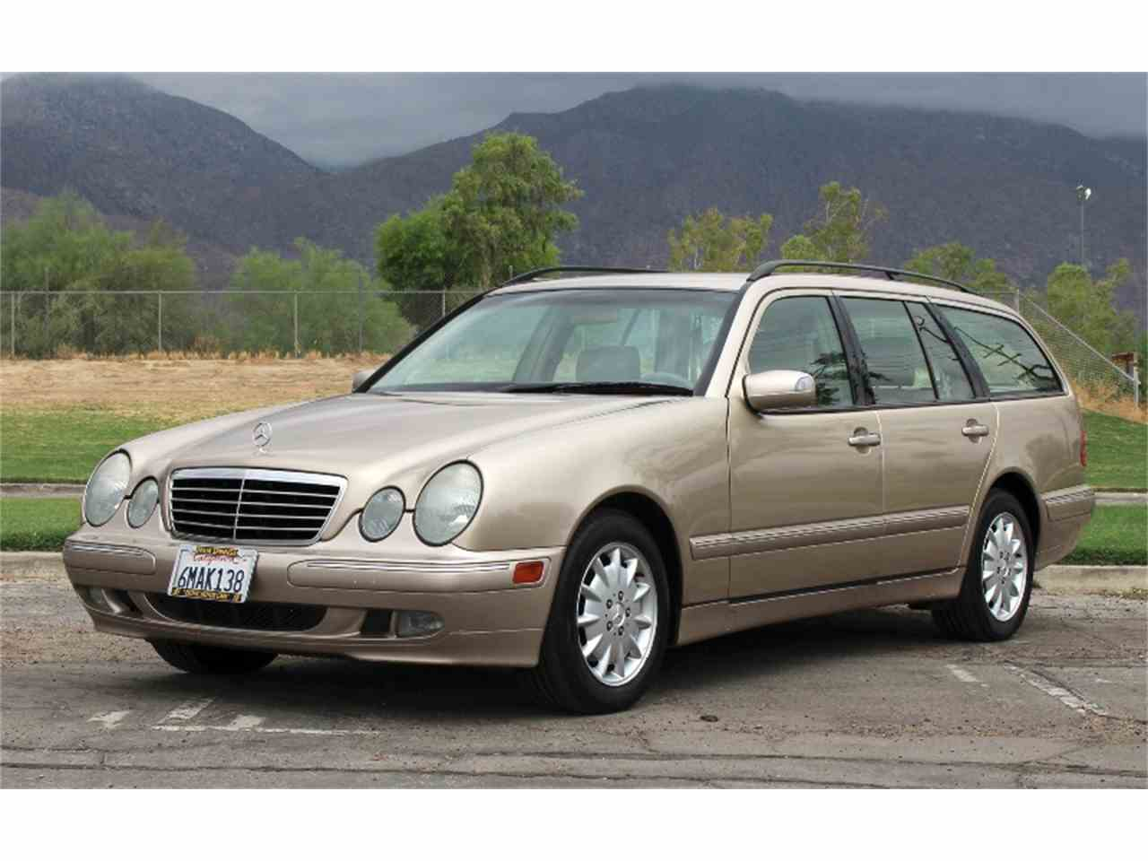 2000 mercedes benz e320 wagon for sale