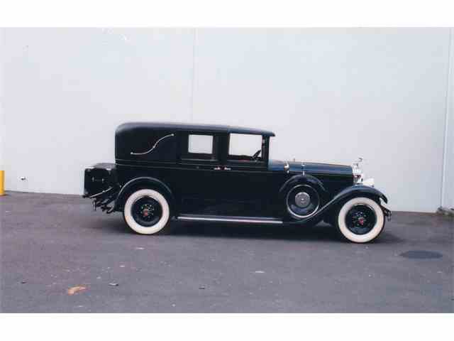 1929 PACKARD 640 CUSTOM EIGHT TC | 1033146