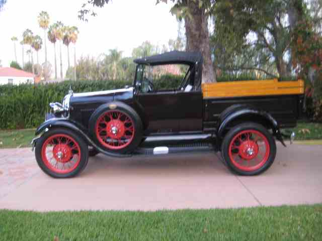 1929 FORD MODEL A RDSTR PICK UP | 1033156