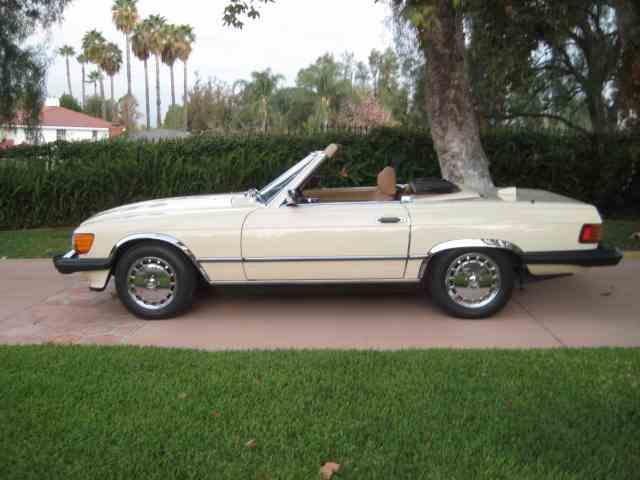 1986 MERCEDES BENZ 560 SL RDSTR | 1033157
