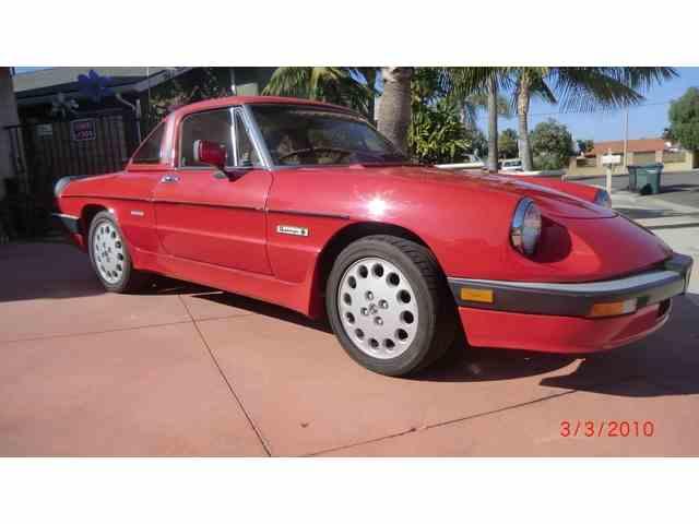 1986 Alfa Romeo Spider | 1033205