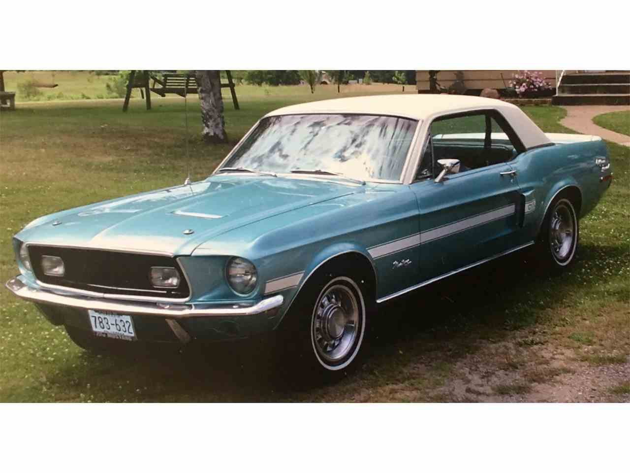 1968 ford mustang gt cs california special for sale cc 1033282. Black Bedroom Furniture Sets. Home Design Ideas
