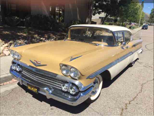 Picture of 1958 Chevrolet Biscayne located in El Cajon CALIFORNIA Offered by a Private Seller - M5HV