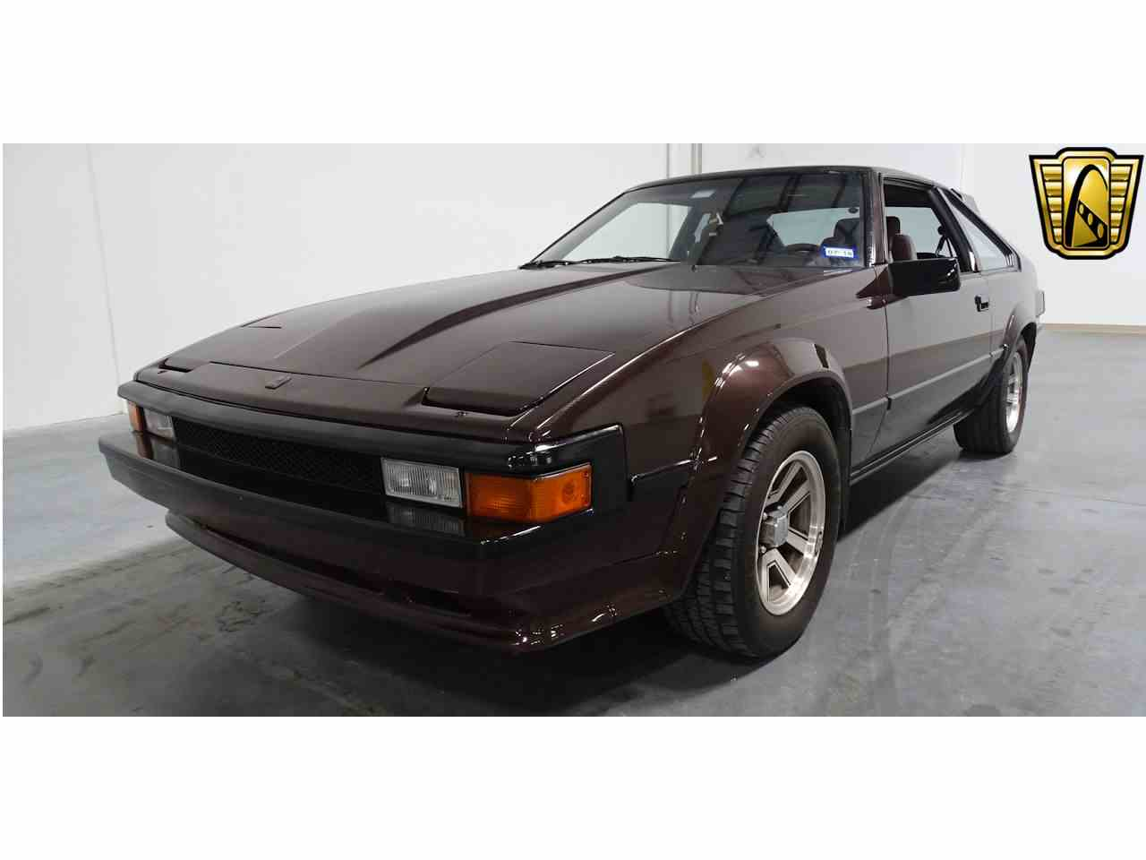 1984 toyota supra for sale cc 1033622. Black Bedroom Furniture Sets. Home Design Ideas