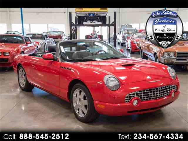 2002 Ford Thunderbird | 1033666
