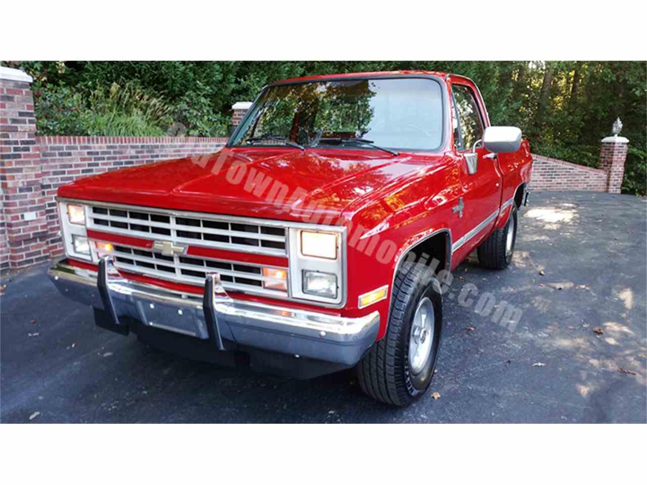 1987 Chevrolet Silverado for Sale ClassicCars