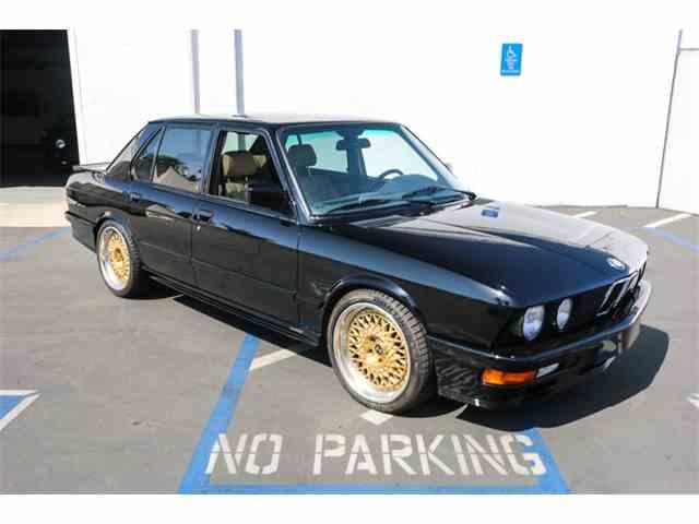 1988 BMW M5 | 1033784
