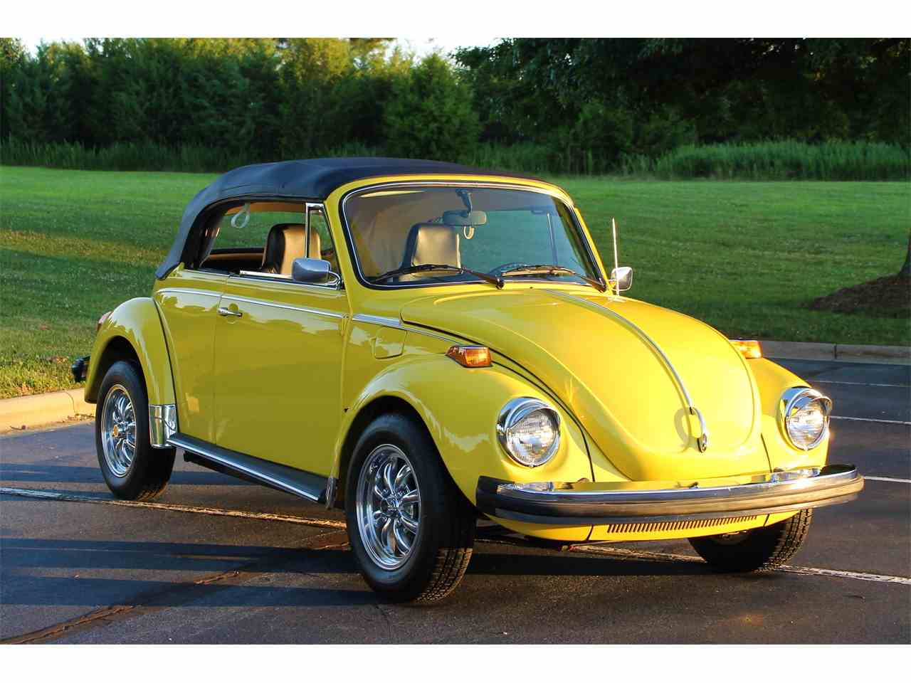 1975 volkswagen beetle for sale cc 1033813. Black Bedroom Furniture Sets. Home Design Ideas