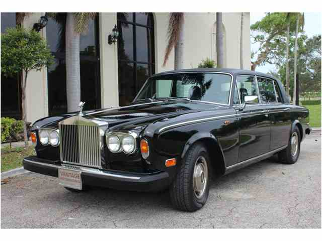 1980 rolls royce silver wraith ii for sale classiccars. Black Bedroom Furniture Sets. Home Design Ideas