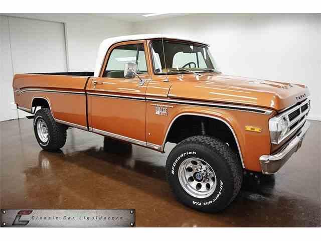 1971 Dodge Power Wagon | 1033990