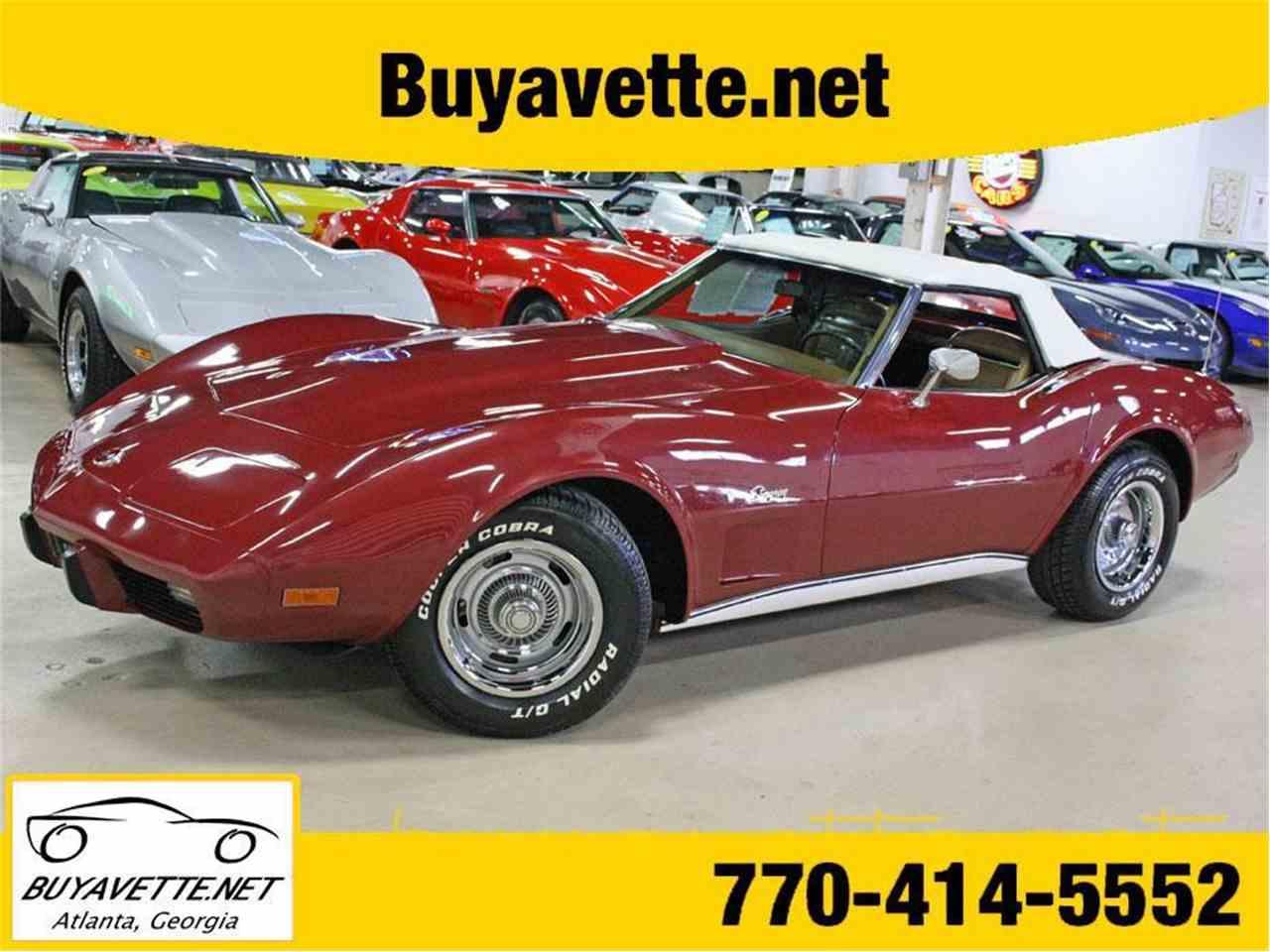Large Picture of '75 Corvette - M5YI