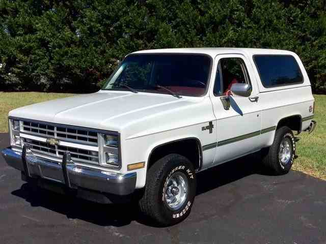 1987 Chevrolet K5 Blazer Silverado | 1034199