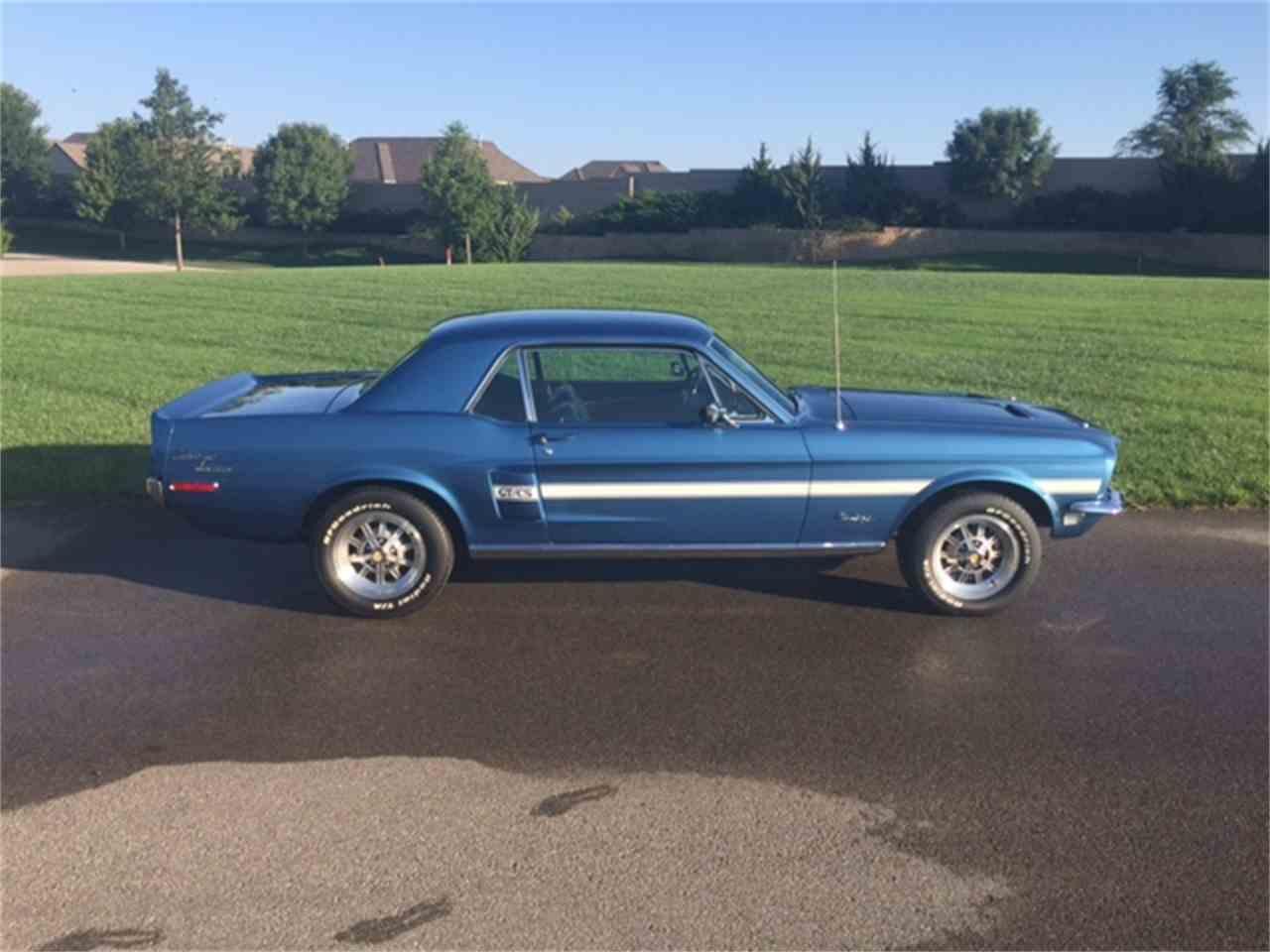 1968 Mustang Gt Cs