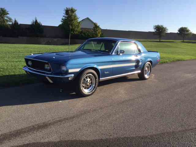 CC-1030423 1968 Ford Mustang GT/CS (California Special)