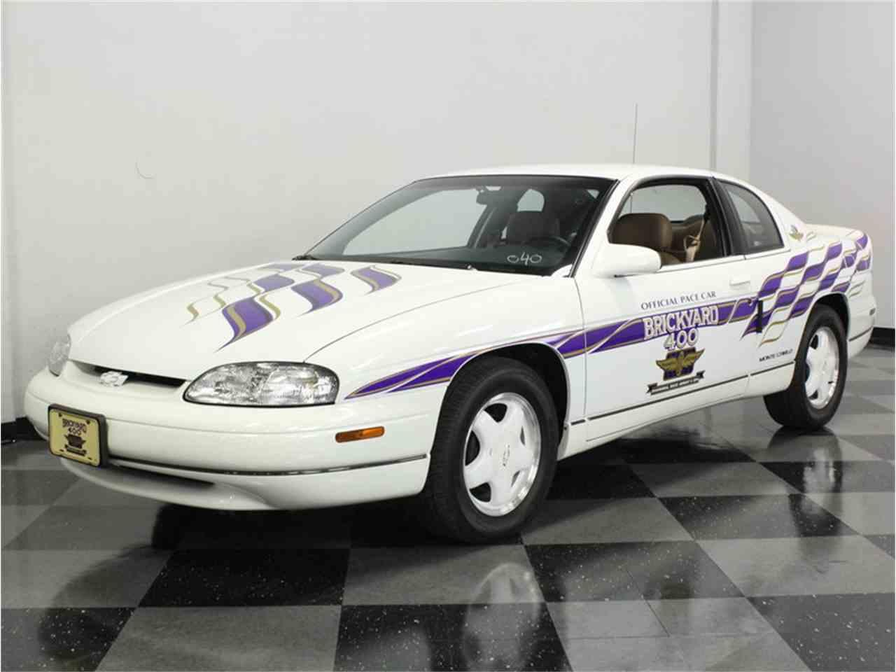 1995 chevrolet monte carlo pace car for sale cc 1034321. Black Bedroom Furniture Sets. Home Design Ideas