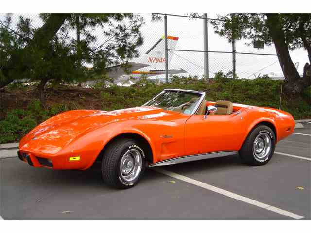 Picture of '75 Corvette located in Costa Mesa CALIFORNIA Auction Vehicle Offered by Corvette Lady - M2SE