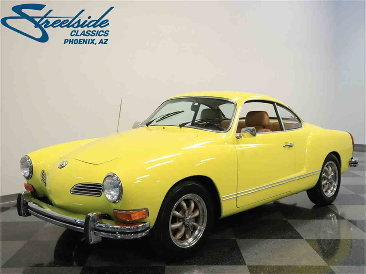 1974 volkswagen karmann ghia for sale cc 1034806. Black Bedroom Furniture Sets. Home Design Ideas