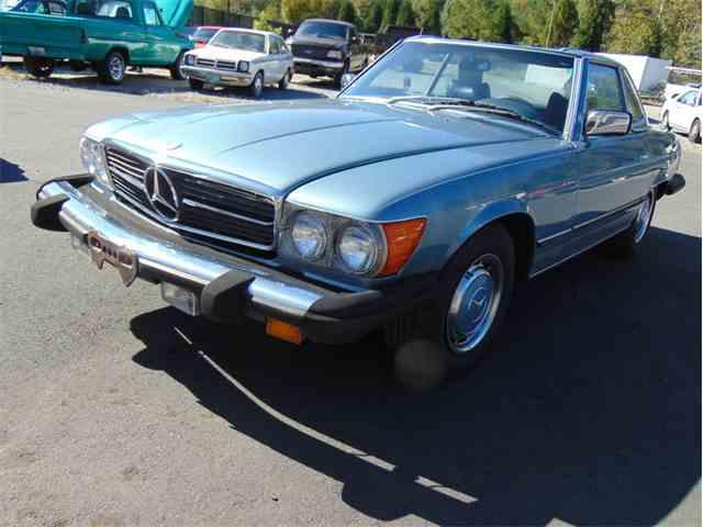 1977 Mercedes-benz 450 SL Convertible | 1034808