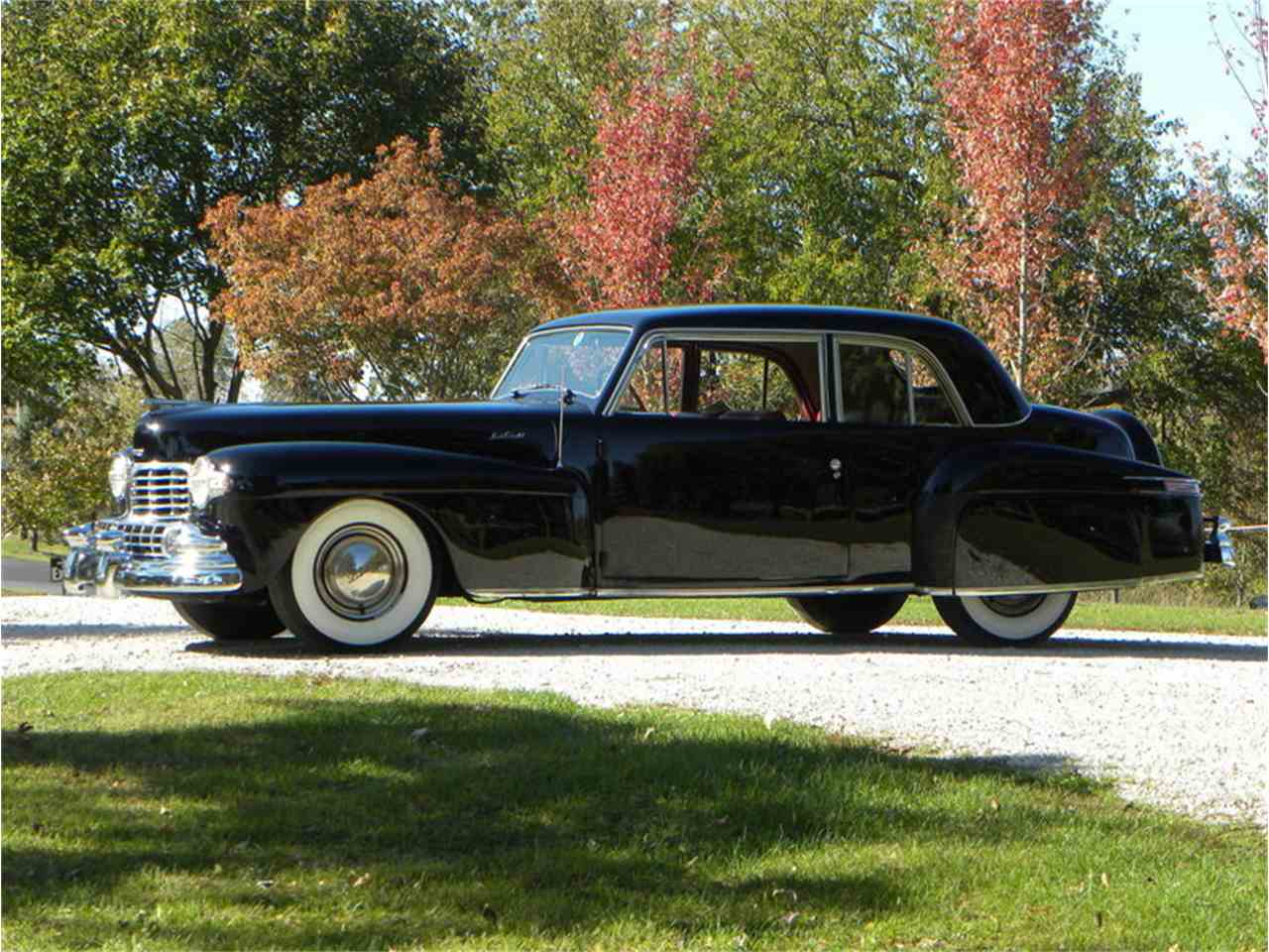 1948 lincoln continental coupe model 876h for sale cc 1034848. Black Bedroom Furniture Sets. Home Design Ideas