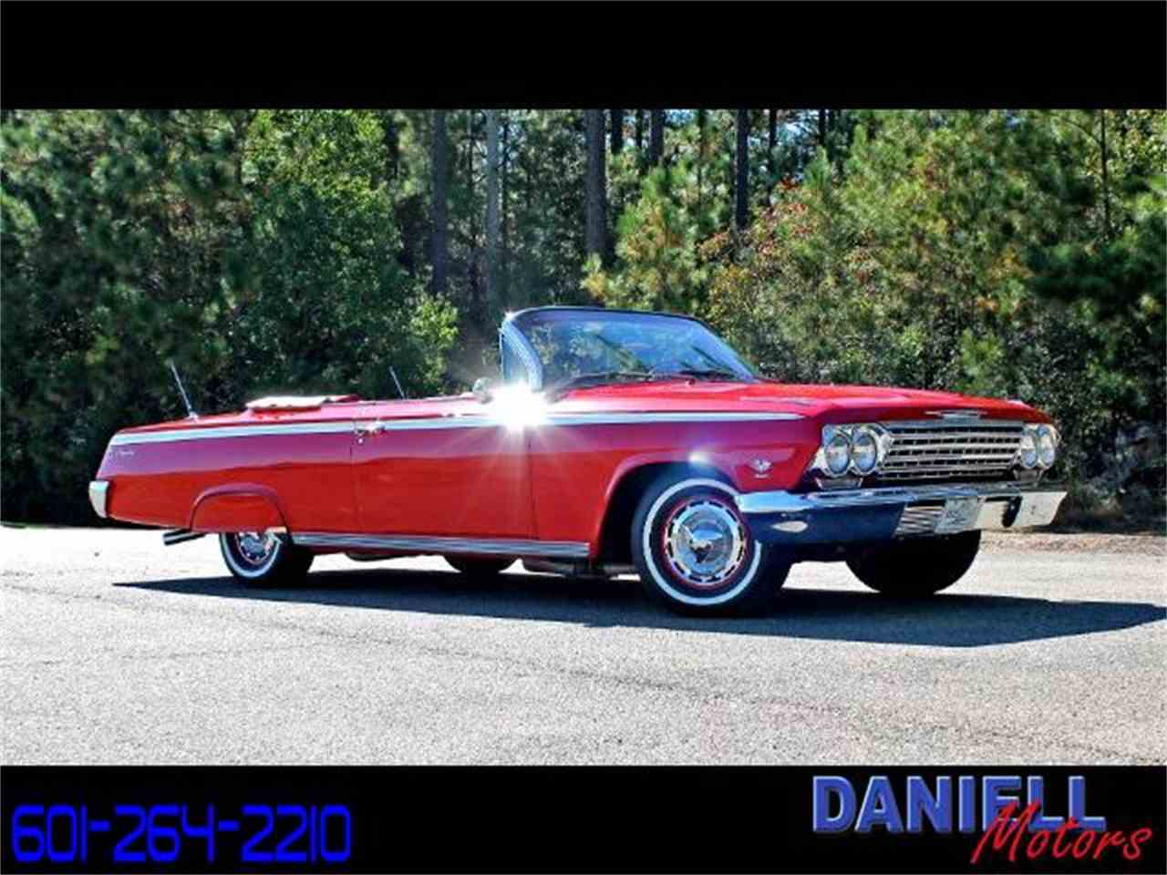 Large Picture of 1962 Chevrolet Impala SS Offered by Daniell Motors - M6IL
